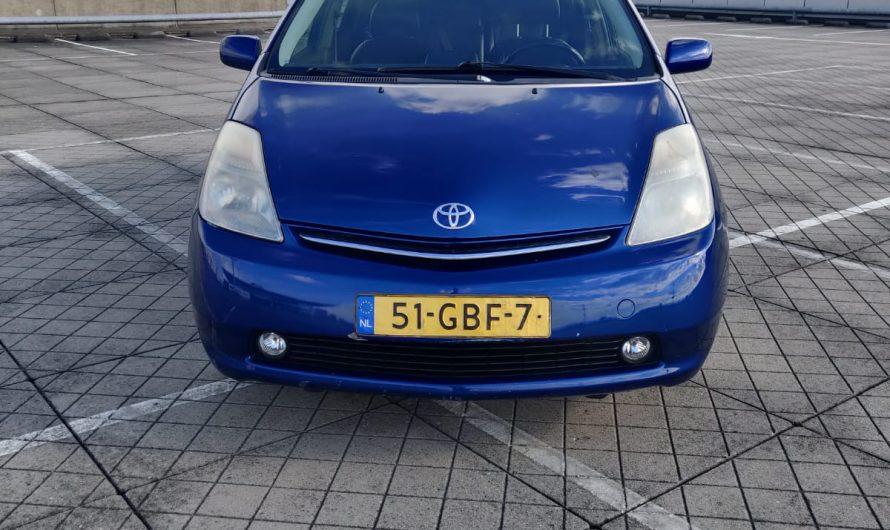 Verkocht-Toyota Prius Hybride Tech EditionBlauw 2008 245.000 km NAP